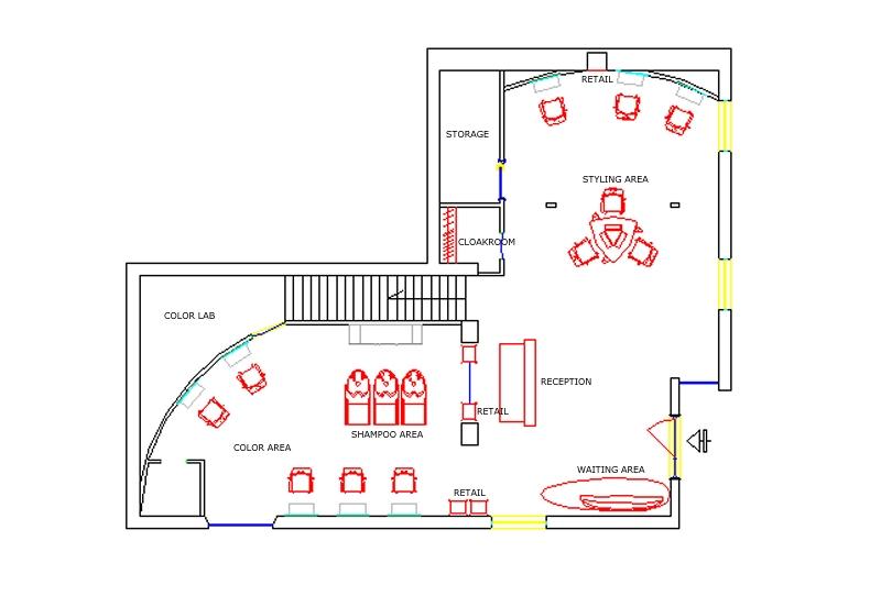 Salon Blueprint Maker Joy Studio Design Gallery Best Design
