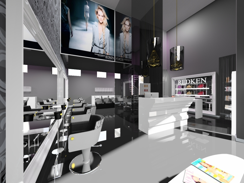 Salon Space - 80mq - 860ft - Reception Area