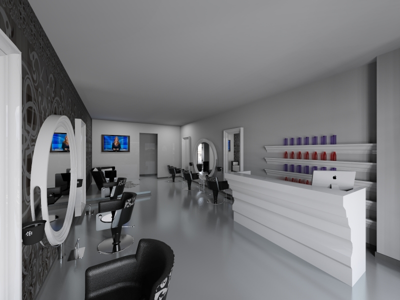 Salon Space - 60mq - 645ft - Styling Area