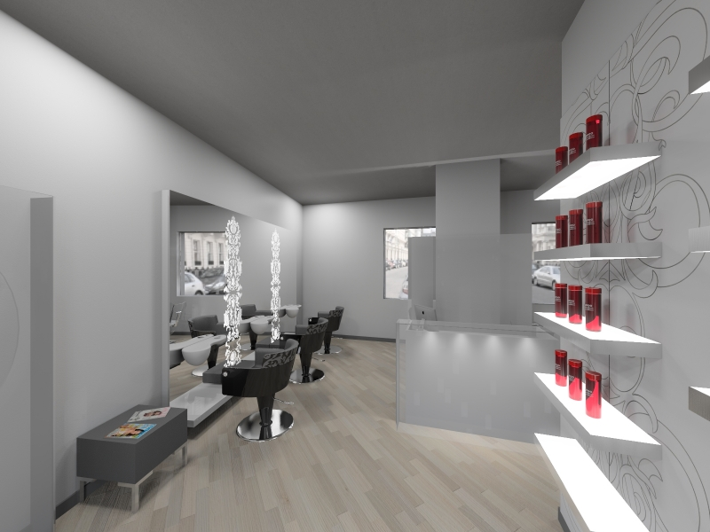 Salon Space - 30mq - 322ft - Retail Area