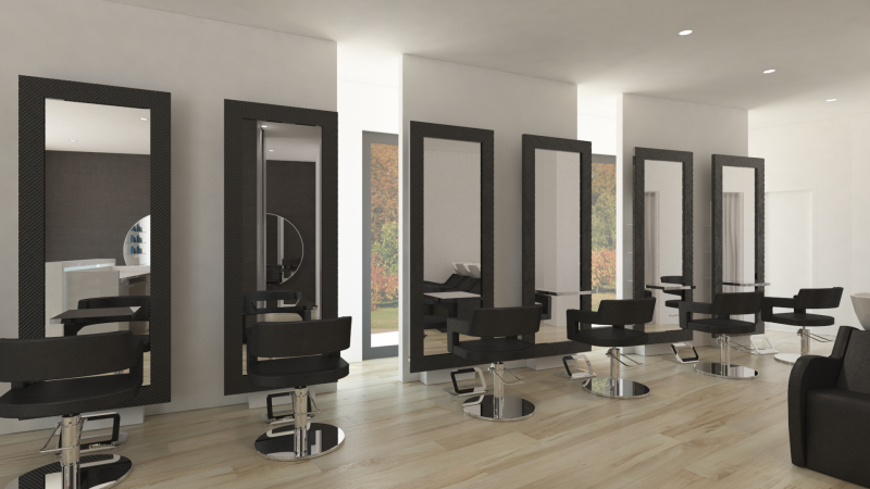 Salon layouts beautydesign - Sallon design ...