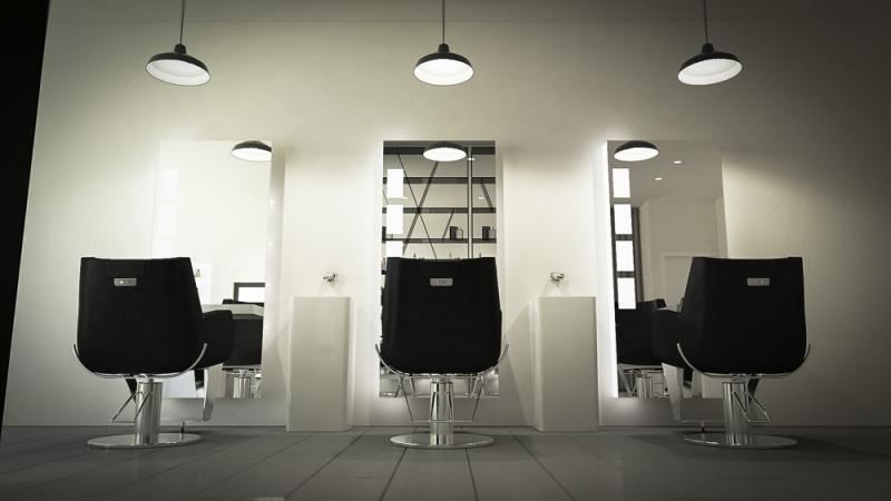Loft for Men - Reception Area