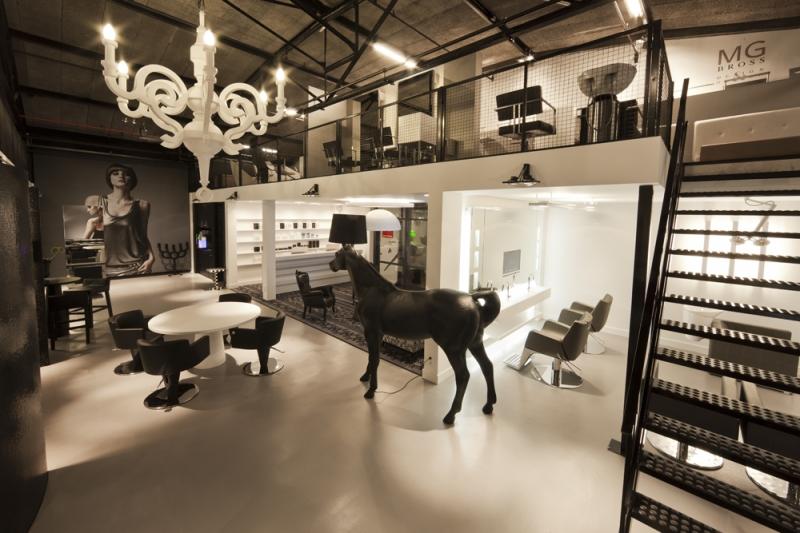 beauty salon equipment & furniture  gamma & bross ~ Waschbecken Riss