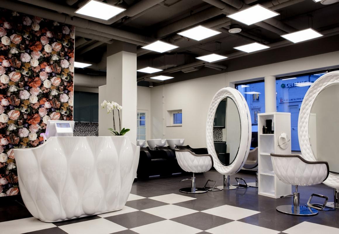 Fotos de decoraciones de salones de belleza 16