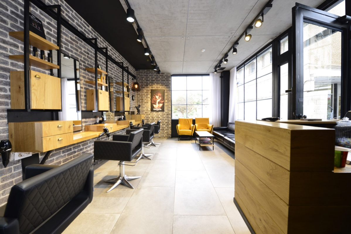 Mobilier de coiffure et pour salons de beaut gamma bross design pour salons de coiffure - Spa modernos ...