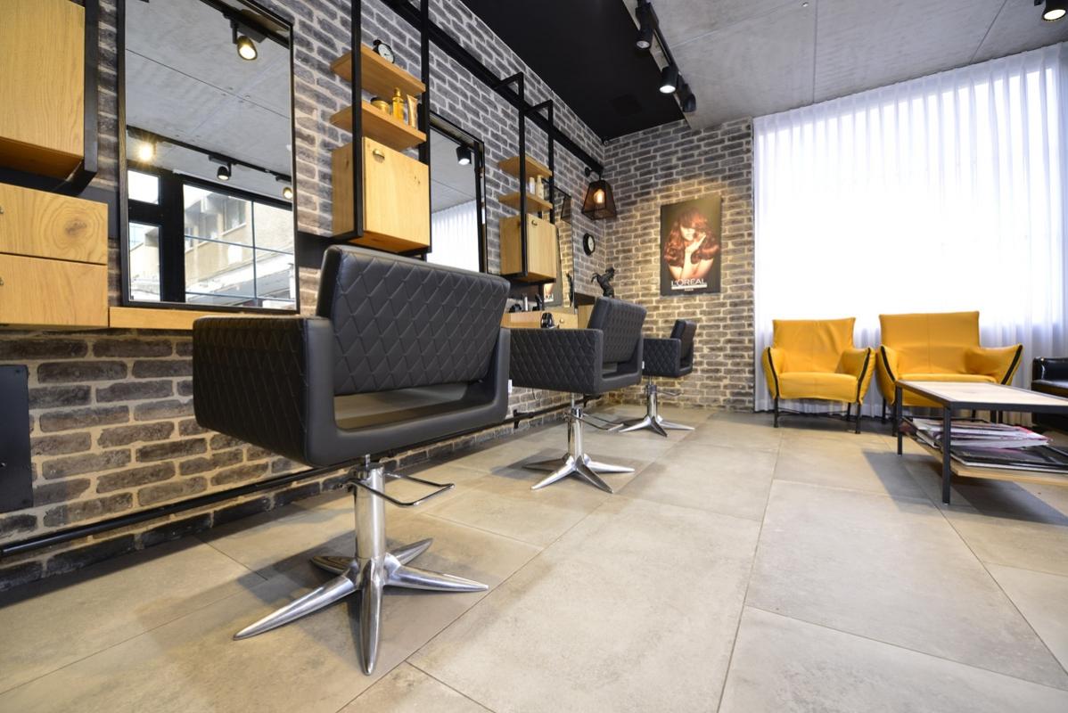 Amazing Salon De Coiffure Design #2: Styling Area