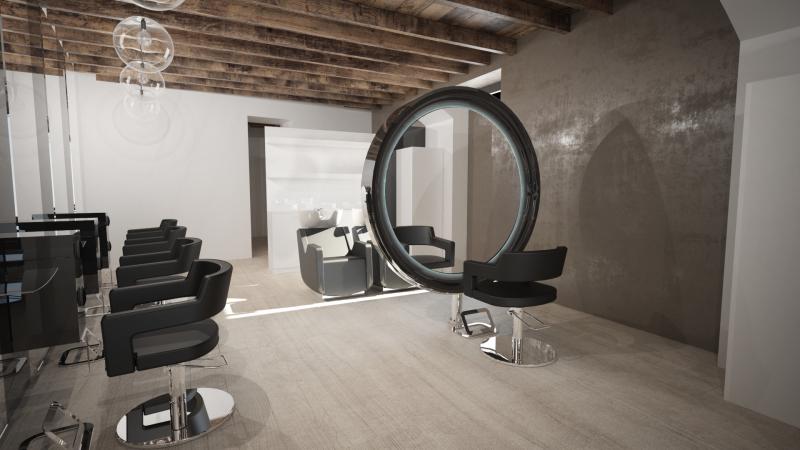 Retro Style Salon