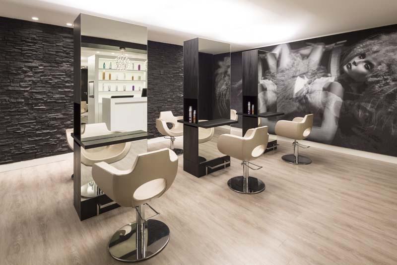 Beauty salon equipment furniture gamma bross - Interiores de peluquerias ...