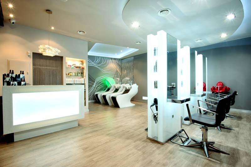 Mobiliario de peluquria y salones de belleza gamma - Diseno salon ...