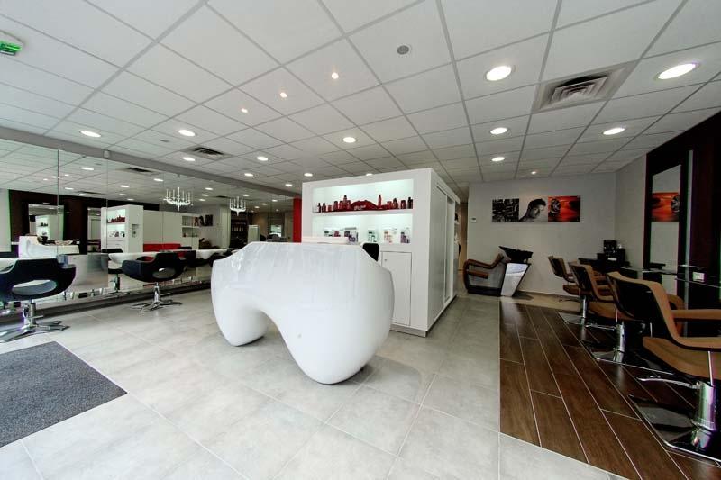 Mobiliario de peluquria y salones de belleza gamma - Diseno de interiores salones ...