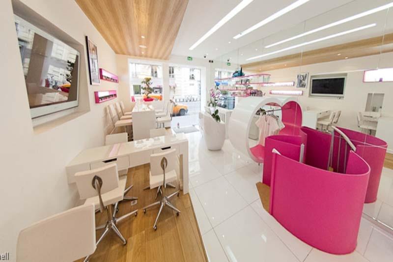 Mobiliario de peluquria y salones de belleza gamma - Salones de diseno ...