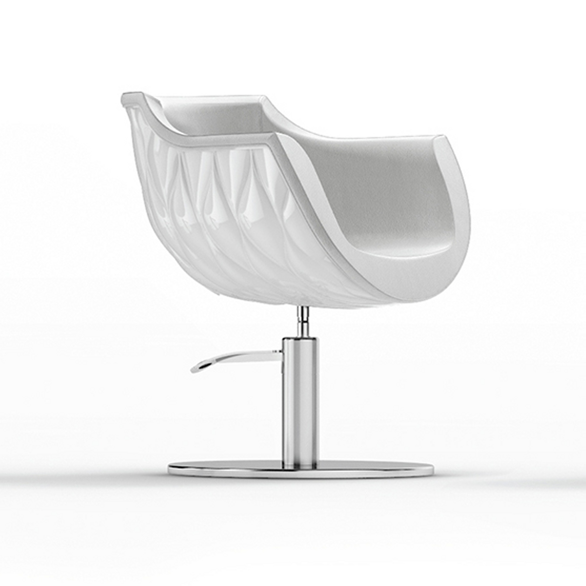 Pearl Chair White Styling Salon Chairs Gamma Amp Bross